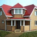 Оригинальная крыша на загородном доме нынче не редкость