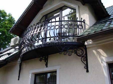 открытые балконы в частных домах фото