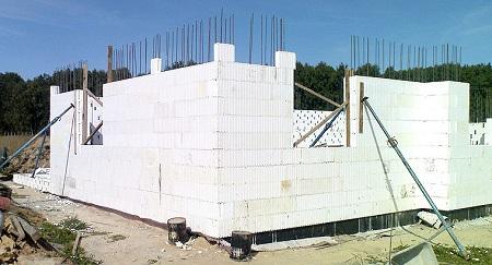 Строительство дома с несъемной опалубкой 1