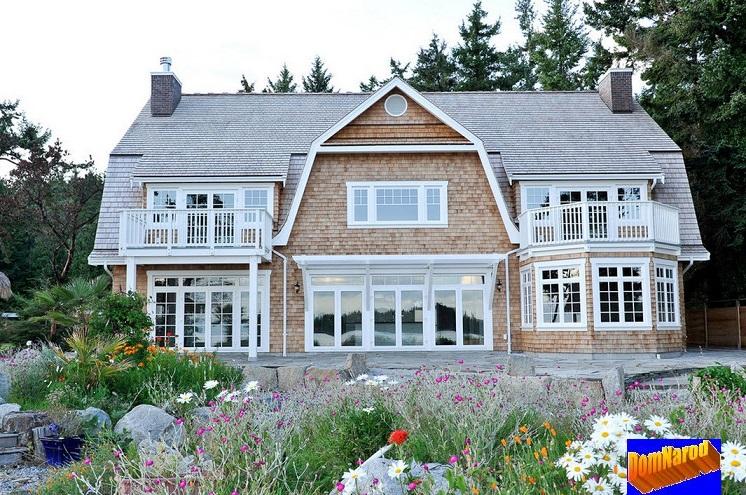 Выбор фасада современного загородного дома - Кантри с Хай-Тек