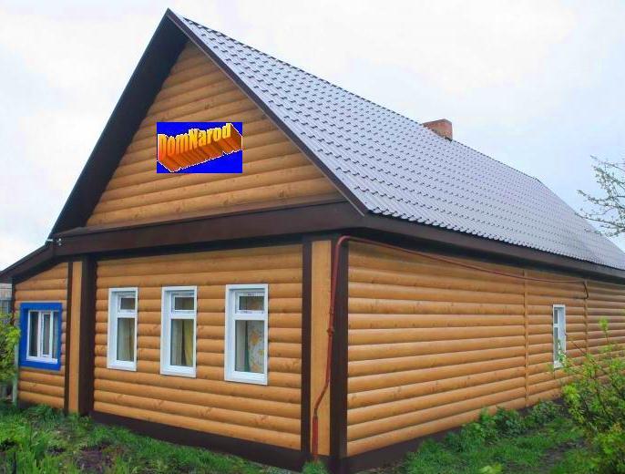 Обшивка дома
