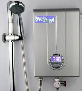 Проточный водонагреватель с регулятором температуры